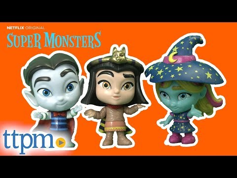 Super Monsters Drac Shadows, Katya Spelling, and Cleo Graves Figures from Hasbro
