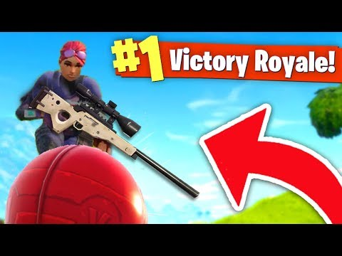 WINNING by LAUNCHING on a SUPPLY DROP! (Fortnite Battle Royale)