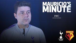 MAURICIO ON SONNY'S RETURN VS WATFORD | MAURICIO'S MINUTE