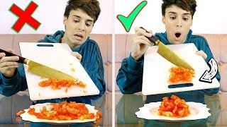 i tried foods we been eating the WRONG WAY 2