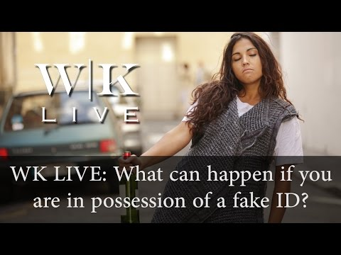 The consequences of possessing and using a fake ID
