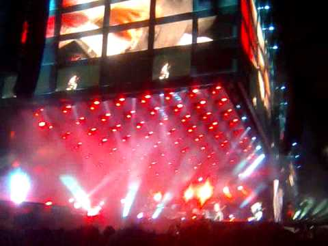 Muse riff - Madrid - Map of the Problematique - Vicente Calderon