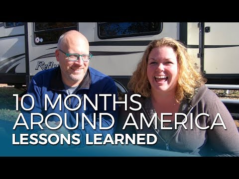 RV NEWBIE Tips and Tricks from our First 10 Months Around America