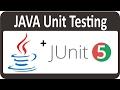 Unit Testing Java Application Using JUNIT  Test Java Program  03