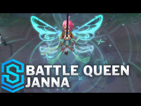 Battle Queen Janna Skin Spotlight - Pre-Release - League of Legends