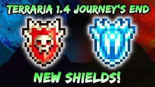 NEW Hero Shield & Frozen Shield in Terraria Journey's End 1.4! Upgraded Paladin's Shield!