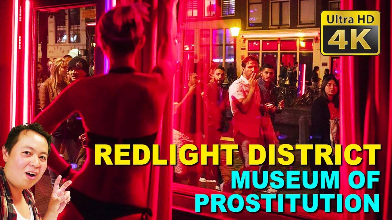 Prostitutes district amsterdam light red Sex work