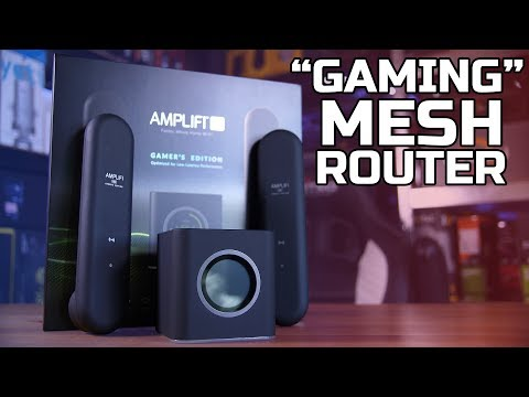 """Gaming"" Mesh Router Review - Ubiquiti AmpliFi HD"
