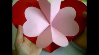 Como hacer tarjetas de amor.  Dia de la madre y amor san valentin. Como fazer amor cartões
