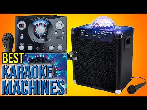 9 Best Karaoke Machines 2016