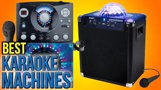 9 Best Karaoke Machines 2016