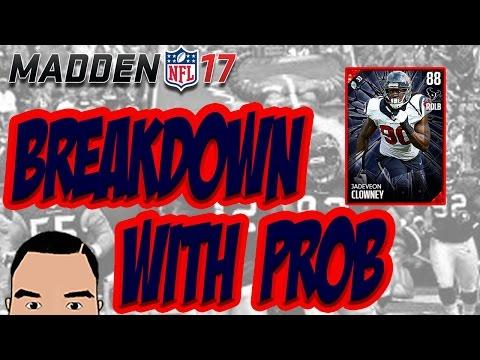 BREAKDOWN WITH PROB: 88 JADEVEON CLOWNEY!!!