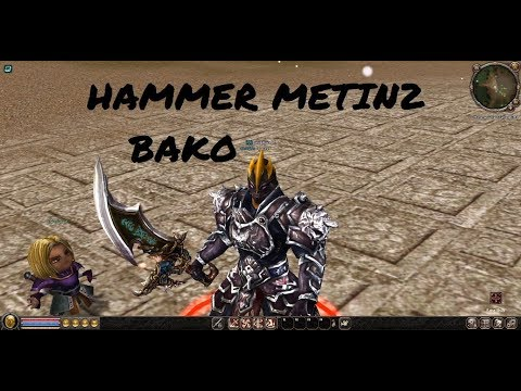 Hammer Metin 2 RO Private Server Full PvP - Riview - Fights - Cool Armors |Bako