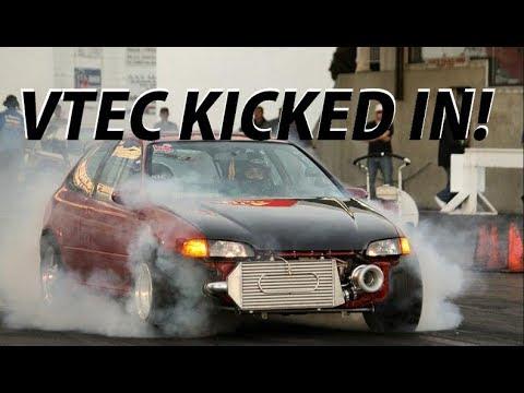 VTEC vs V8 Compilation (VTEC KICKED IN YO!)