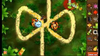 Bloons Monkey City Sticky Sap Plant INSANITY!