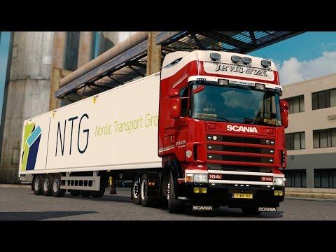 ETS 2 1.27 ProMods 2.16 Scania 164L  Rotterdam - Hannover