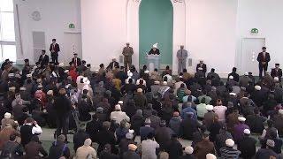 Cuma Hutbesi 27-02-2015 - Islam Ahmadiyya