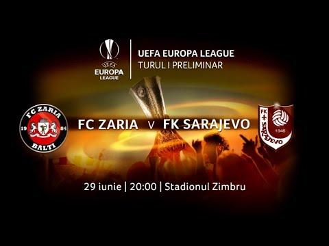 Первый отборочный раунд Лиги Европы между «Зарей» и боснийским «Сараево». 29.06.2017