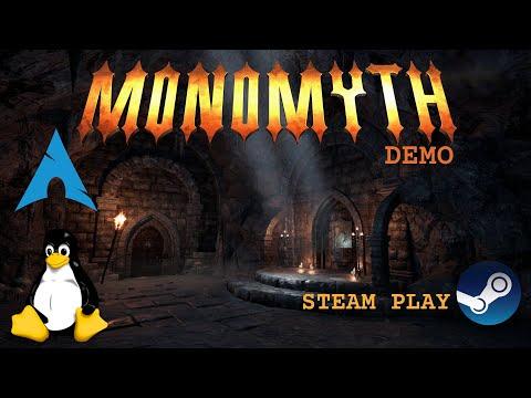 Monomyth Demo - Linux - Steam Play | Gameplay