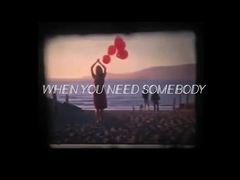 Lux Lisbon - When You Need Somebody [OFFICIAL VIDEO]