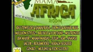 BRUSCO feat I-OCTANE - NUH CARE - MAMA AFRICA RIDDIM