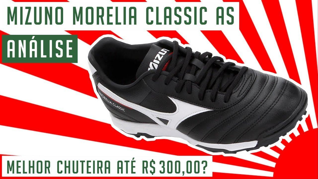 408d0100c7 CHUTEIRA MIZUNO MORELIA CLASSIC AS - MELHOR CHUTEIRA SOCIETY ATÉ R ...