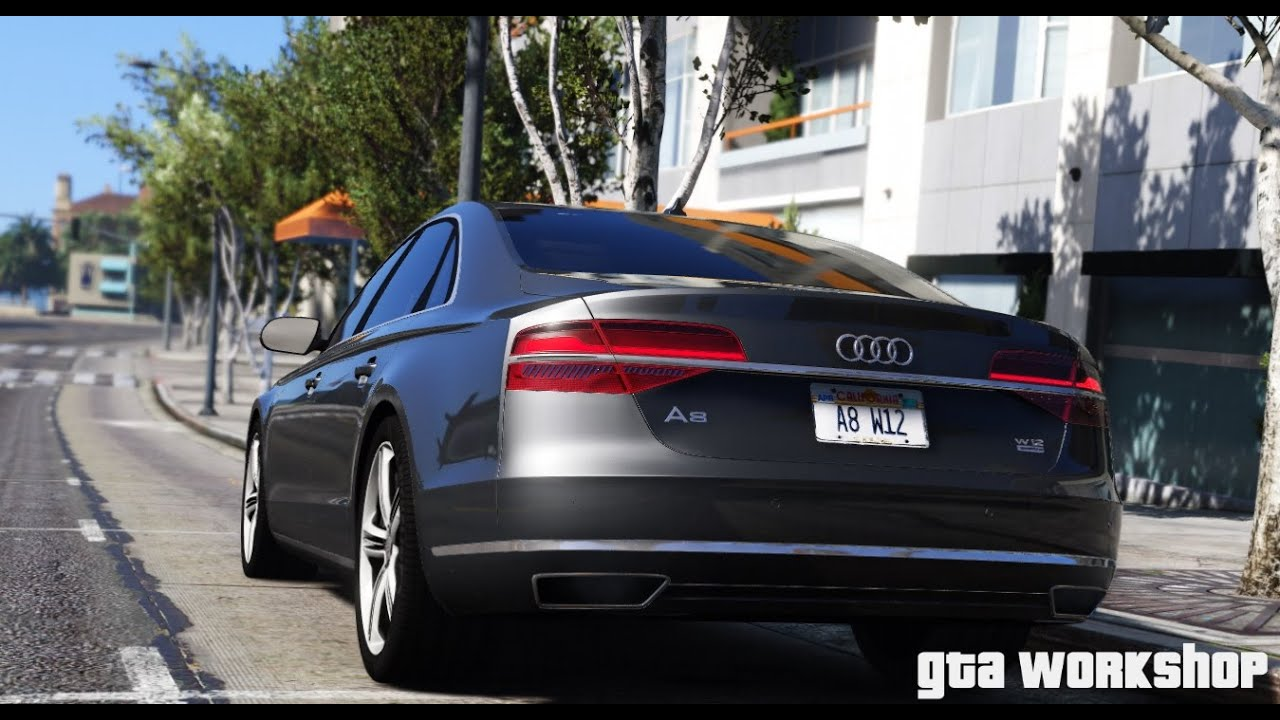 Gta 5 Audi A8 W12 2016 Fast Drive Pc Mod Youtube