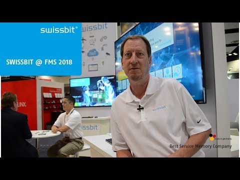 Swissbit at Flash Memory Summit 2018