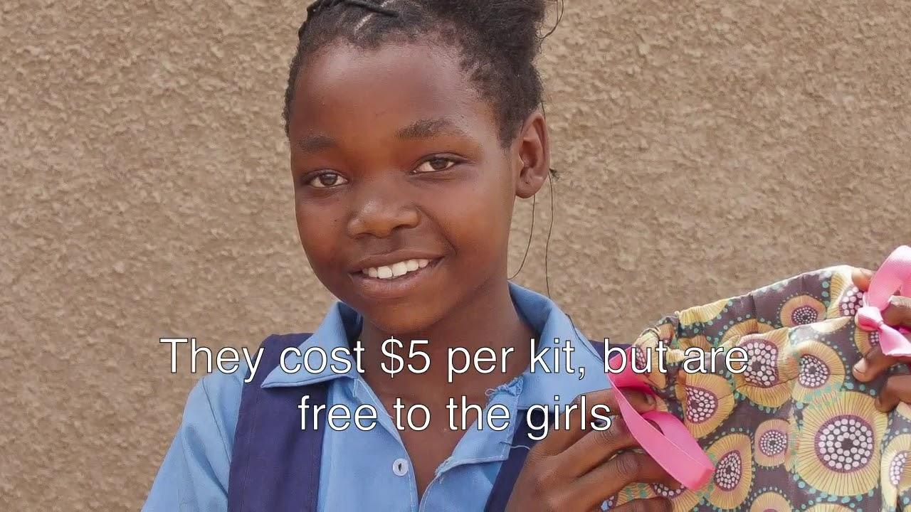 GEP Provides Reusable Sanitary Kits