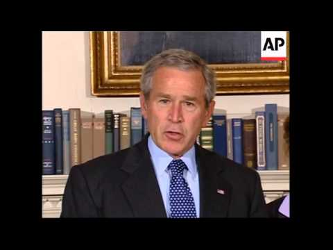 Bush comments on new Iraqi government