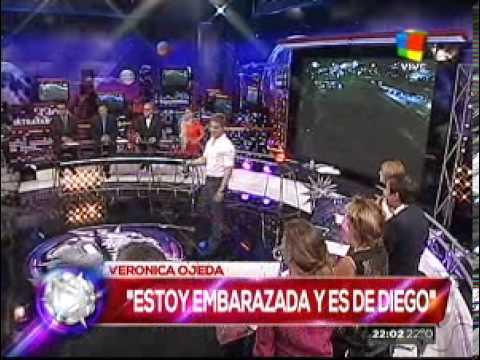 Verónica Ojeda confirmó su embarazo: Es de Diego