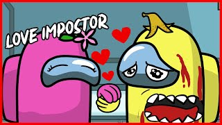 EVERY DAY AMONG US LOVE - IMPOSTOR LIFE ANIMATION