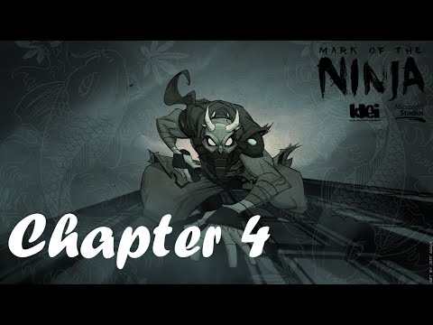 [Playthrough No Kills ReRun] Mark of the Ninja - Chapter 4 (A Change in Course)