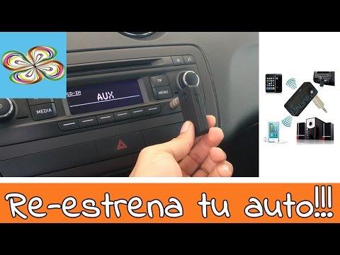 Receptor bluetooth música & llamadas para auto