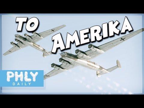 AMERIKA BOMBER | ME-264 Bomber Formation (War Thunder)