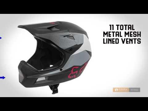 Fox Racing Rampage Comp Dresden Full Face Mountain Bike Helmet (For Men)