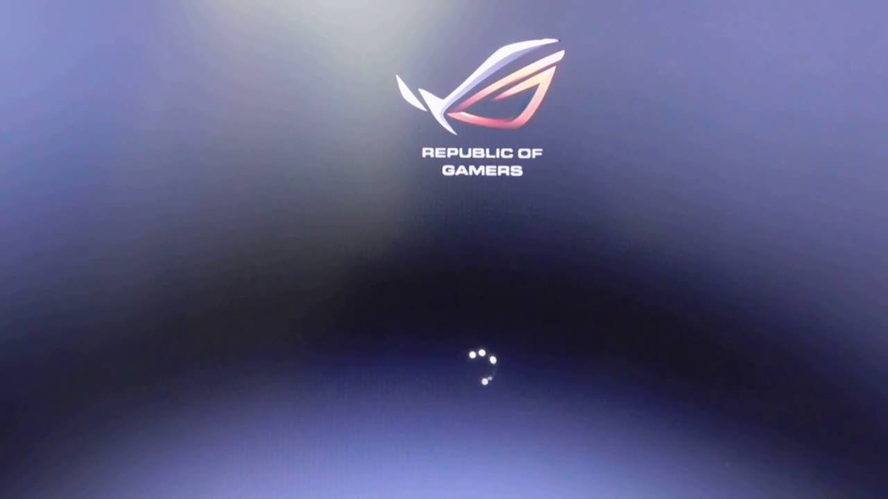 There is way to bring the LOGO ROG boot splash screen GL552VX GL552JX