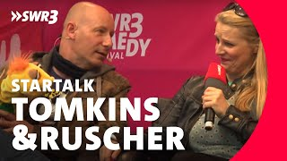 Barbara Ruscher & Benjamin Tomkins im Live-Talk