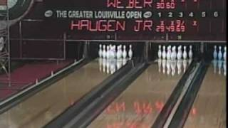 2001 Pete Weber vs Michael Haugen Jr. Part 1