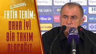 """Fatih Terim: """"Daha İyi Bir Takım Olacağız"""" / Kayserispor 3 - 0 Galatasaray Maç Sonu Basın Toplantısı"""