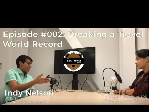 This Guy Graduated From Business School and Decided To Go Break Two World Records | #BearMinds 002
