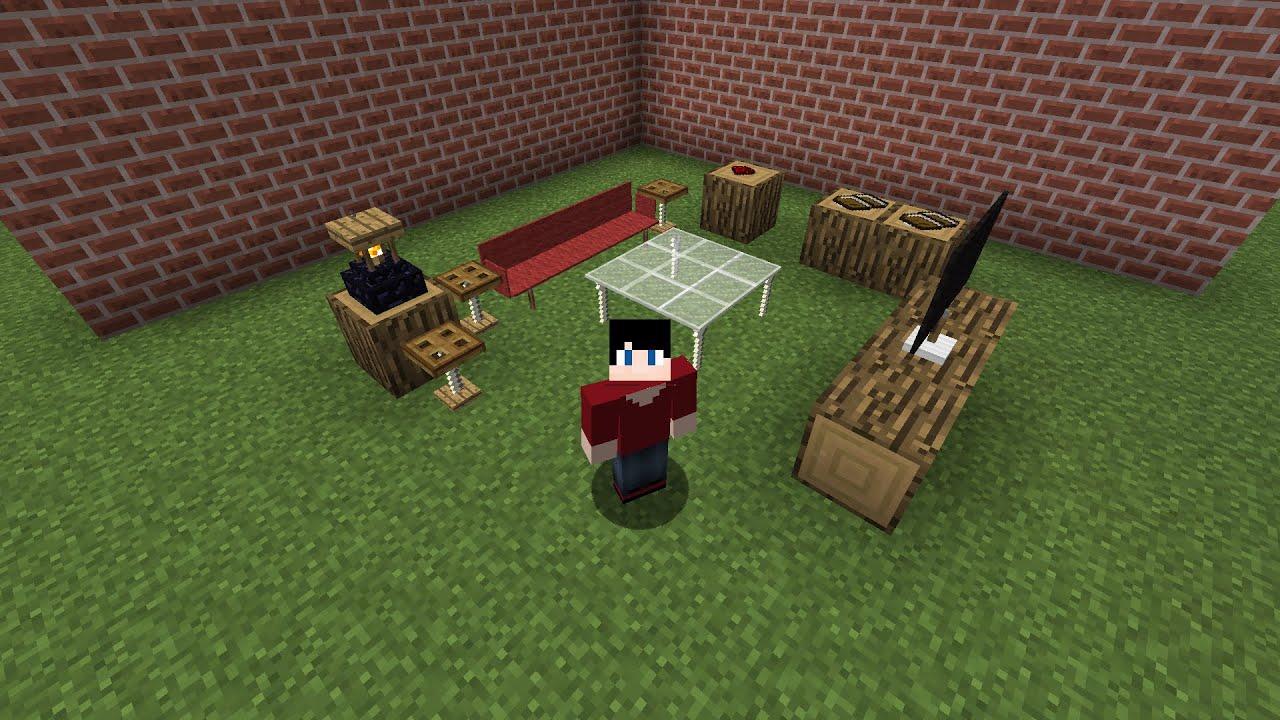 стол в майнкрафте постройка