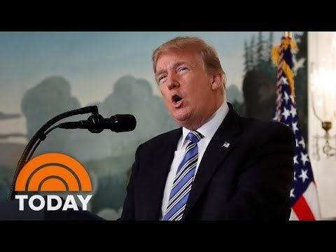 President Donald Trump Talks Mental Health But Not Guns In Wake Of Florida Shooting | TODAY