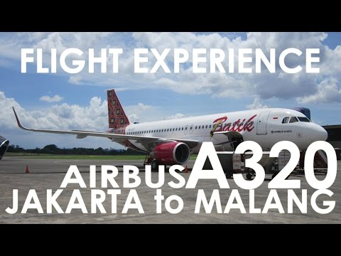 FLIGHT TRIP | Batik Air AIRBUS A320 Jakarta to Malang