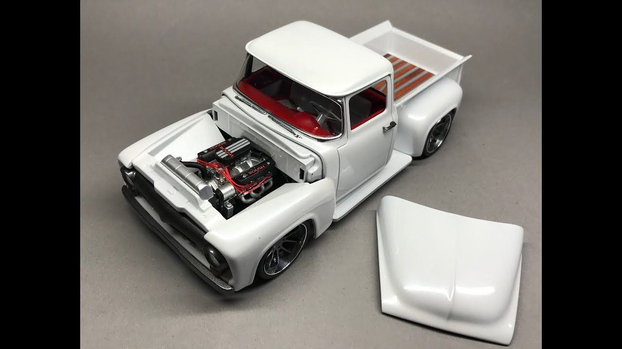 Revell  Foose Ford Fd-100 Full Build Step By Step
