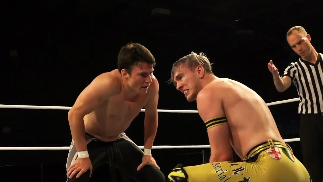 Image result for Mike Bailey vs Will Ospreay – WCPW Pro Wrestling World Cup