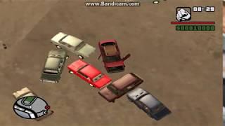 GTA San Andreas - Audi 80 B3 против многих Жигули