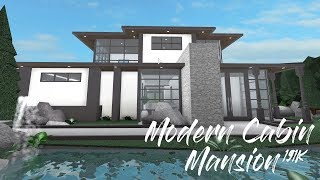 ROBLOX | Welcome to Bloxburg: Modern Cabin Mansion
