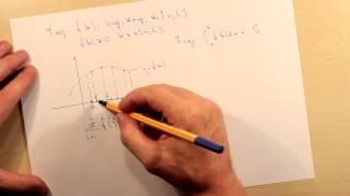 Геометрический смысл определенного интеграла. Тема
