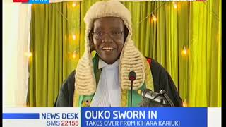 Justice William Ouko becomes the new President of Appeal Court